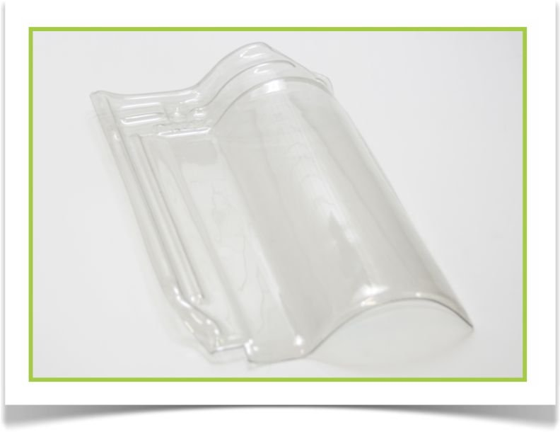 Telha americana PVC-2