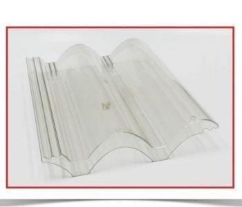 Telha americana policarbonato transparente