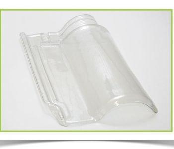 Telha transparente de vidro-1