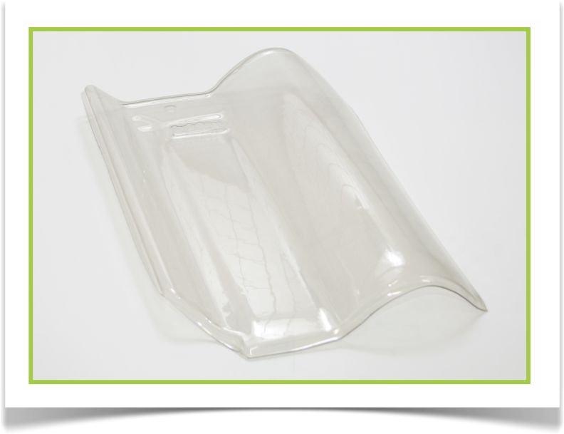 Telha transparente de vidro-2